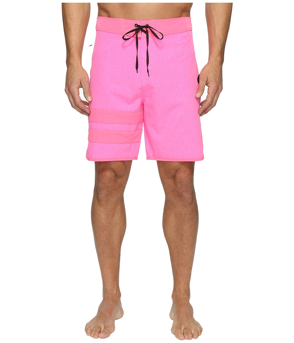 Hurley Phanton Block Party Heather 2.0 (Neon Pink) Men