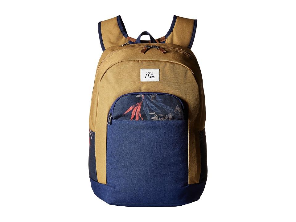 Quiksilver - Dart Modern Original Backpack (Medieval Blue) Backpack Bags