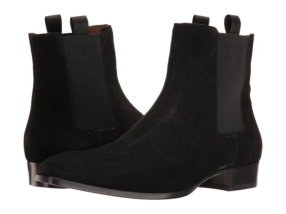 Marc Jacobs Suede Boot (Black) Men