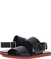 MARNI - Solid Leather Sandal