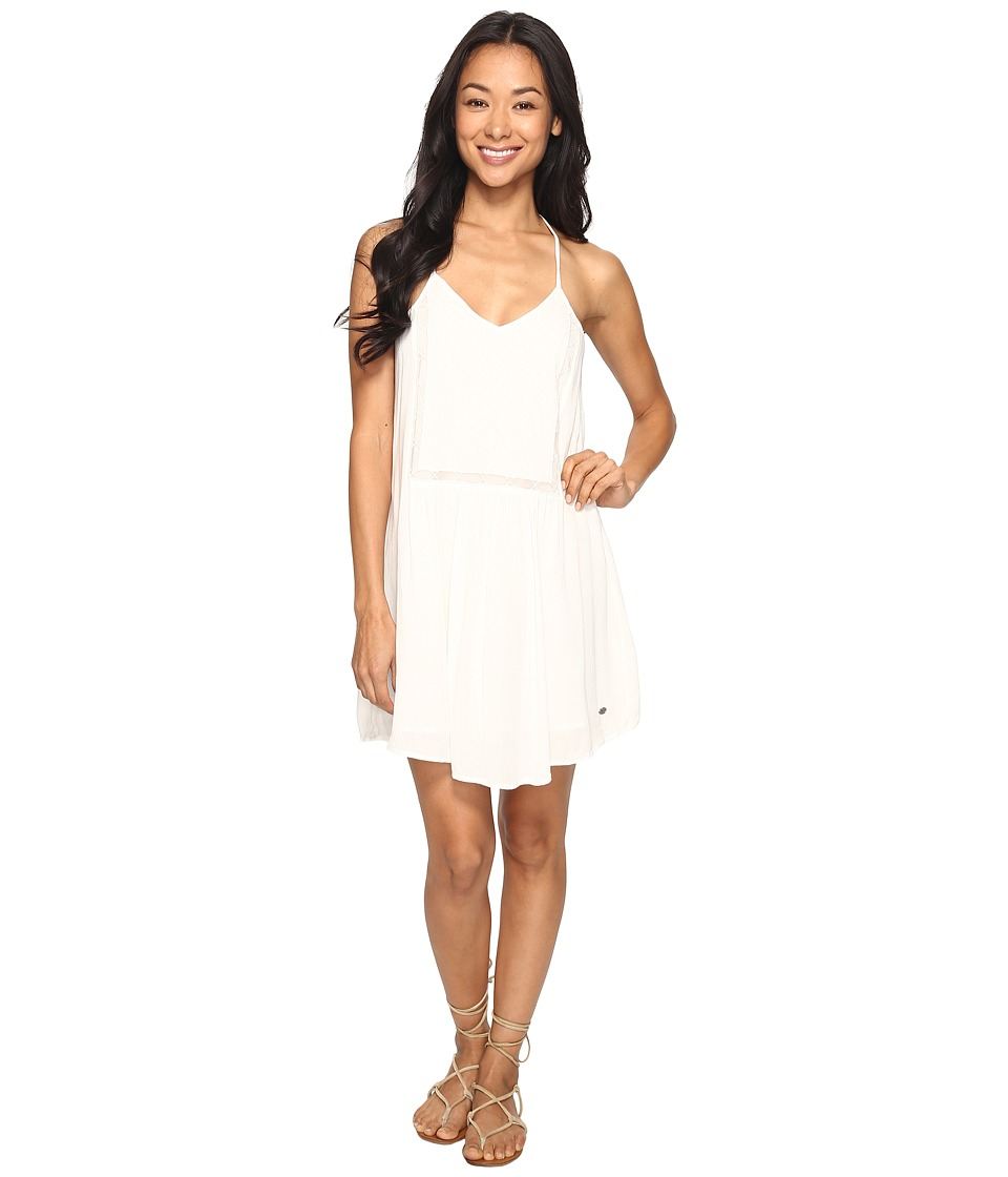 Roxy Prism Pattern Dress (Marshmallow) Women