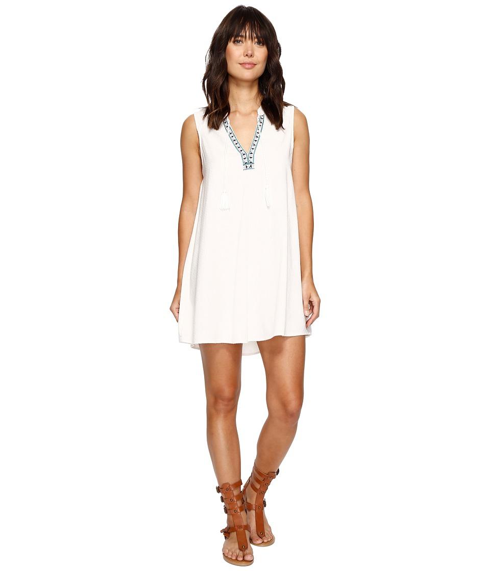 Roxy Magic Hour Dress (Marshmallow) Women