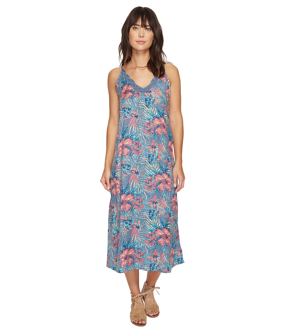 Roxy Optic Diamond Maxi Dress (Captains Blue Beyond Love) Women