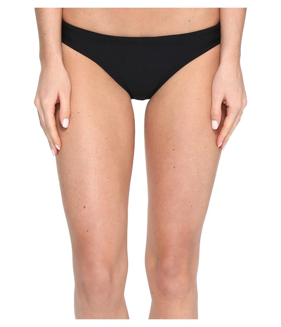 Speedo Solid Bikini Bottom (Speedo Black) Women