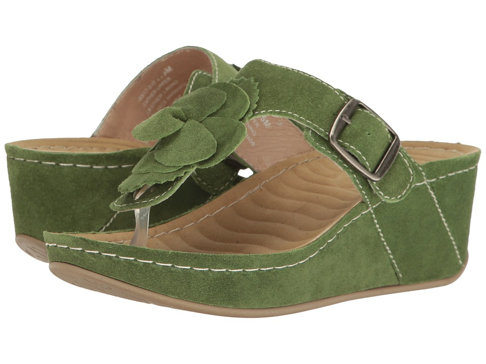 David Tate Spring (Avocado Suede) Women