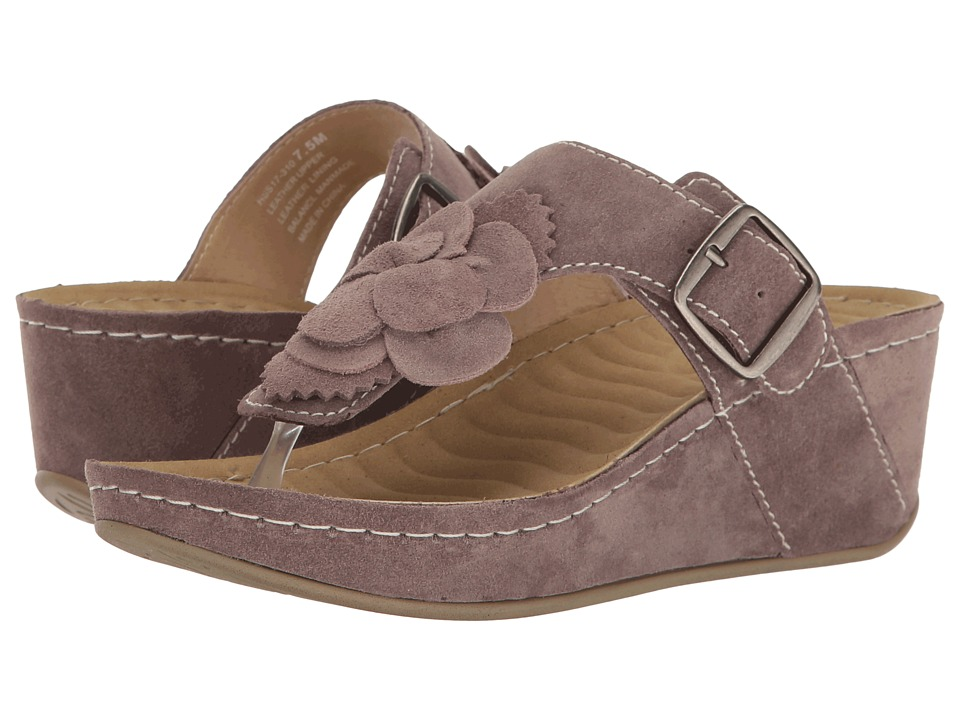 David Tate Spring (Sand Suede) Women's Clog/Mule Shoes