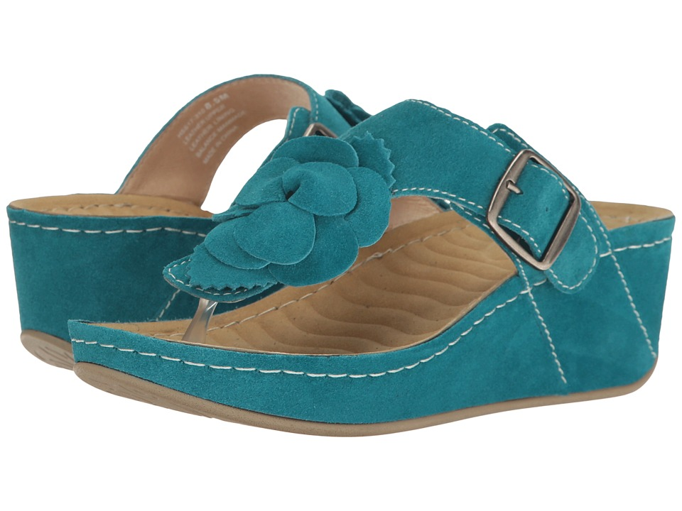 David Tate Spring (Teal Suede) Women