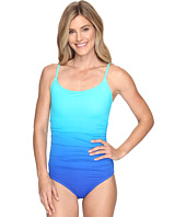 Speedo - Ombre Shirred One Piece