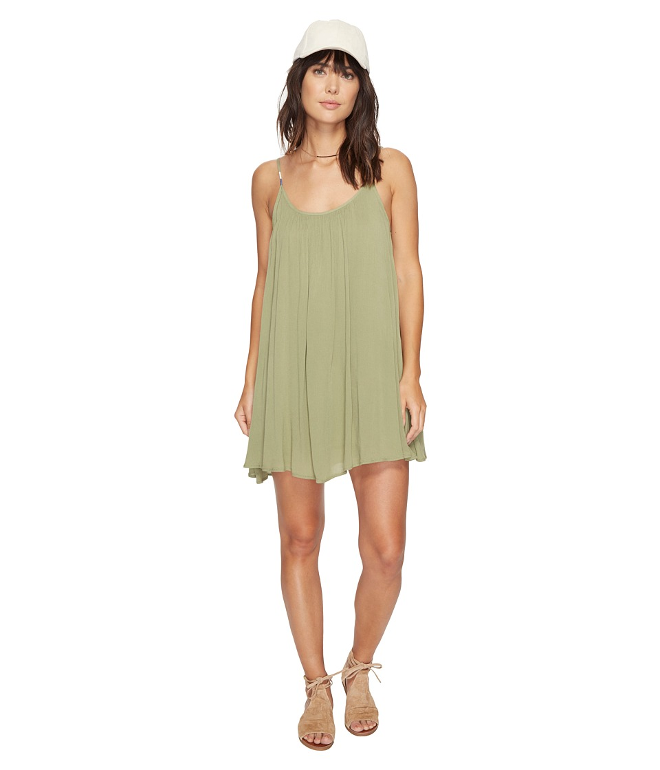 Roxy Perpetual Dress (Oil Green) Women