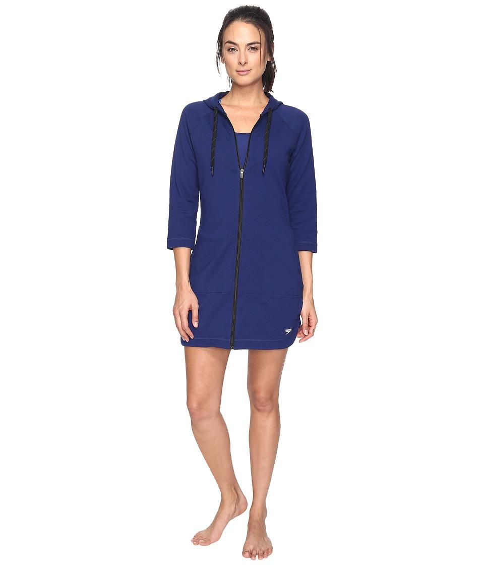 Speedo Aquatic Fitness Robe (Night Blue)