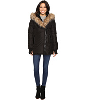 Steve Madden - Fleece Jacket with Asymmetrical Zipper