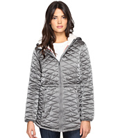 Steve Madden - Glacier Shield Hooded Quited Jacket with Faux Fur Lining