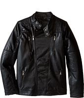 Urban Republic Kids - Faux Leather Moto Jacket (Big Kids)