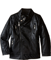 Urban Republic Kids - Faux Leather Moto Jacket (Little Kids)