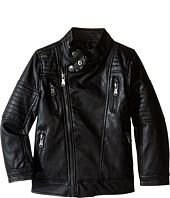 Urban Republic Kids - Faux Leather Moto Jacket (Little Kids)