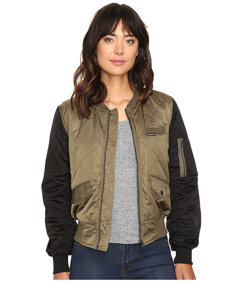 Members Only Diamond Quilted Bomber Jacket - Zappos.com Free