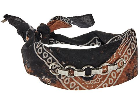 DANNIJO HOLDEN Choker Necklace - Black/Ox Silver