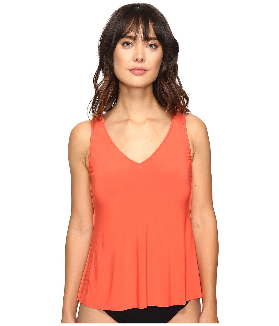 Magicsuit Solids Vanessa Top (Flamingo) Women