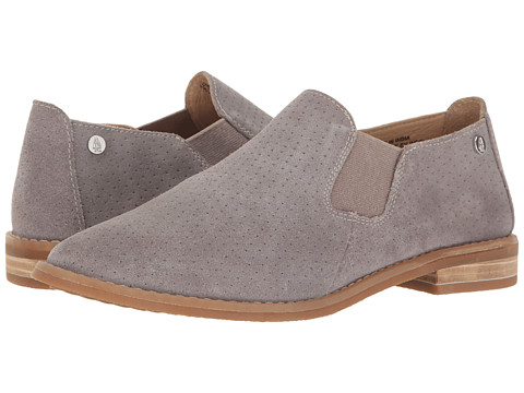 Hush Puppies Analise Clever - Frost Grey Suede Perf
