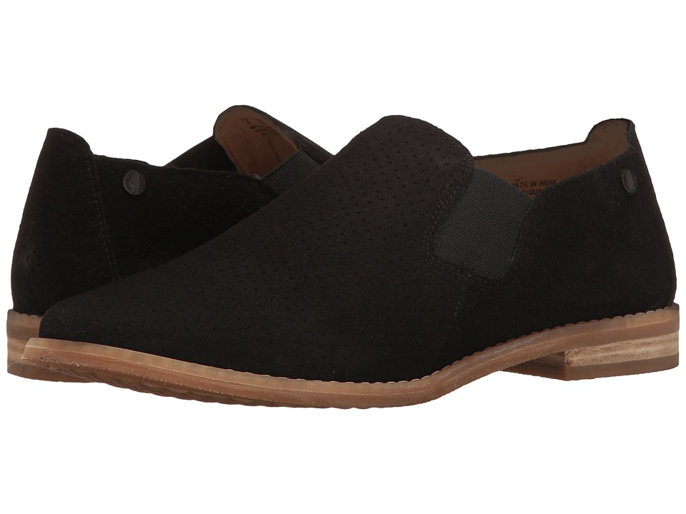 Hush Puppies Analise Clever (Black Suede Perf) Women