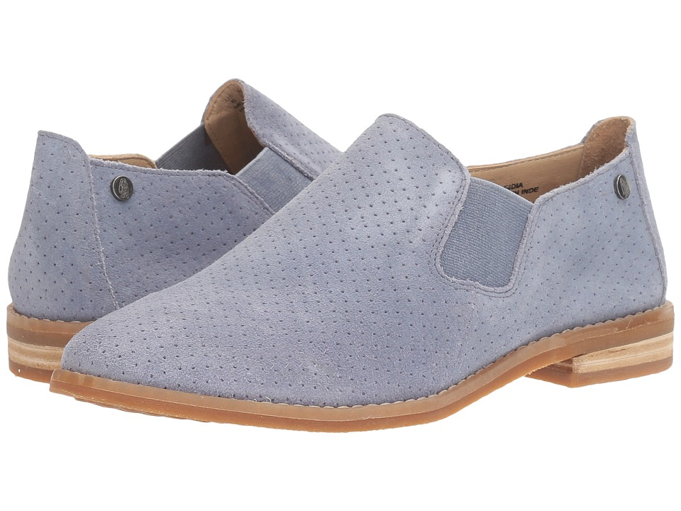 Hush Puppies Analise Clever (Powder Blue Suede Perf) Women