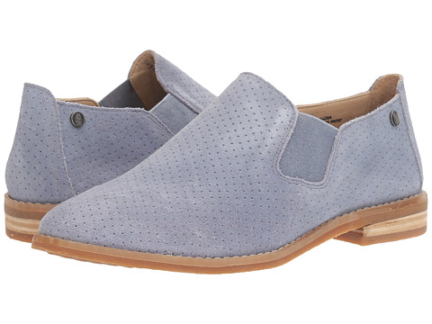 Hush Puppies Analise Clever - Powder Blue Suede Perf