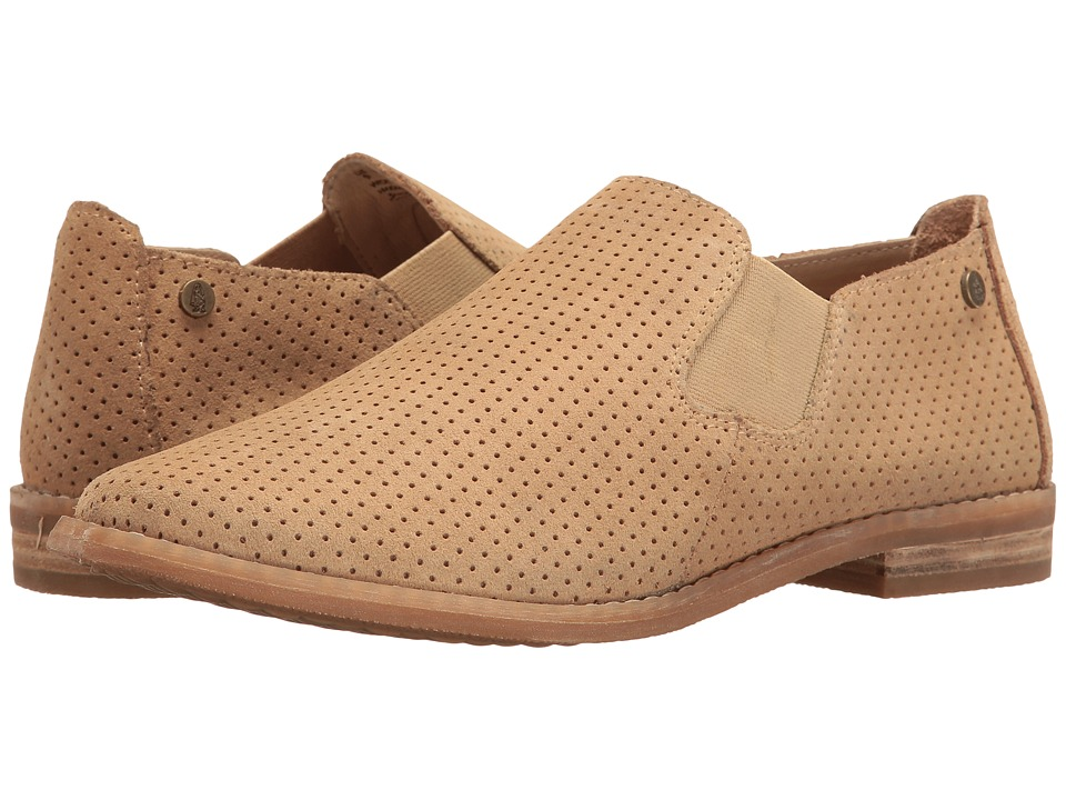 Hush Puppies Analise Clever (Light Tan Suede Perf) Women