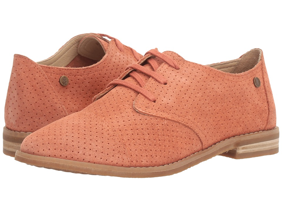 Hush Puppies Aiden Clever (Coral Suede Perf) Women