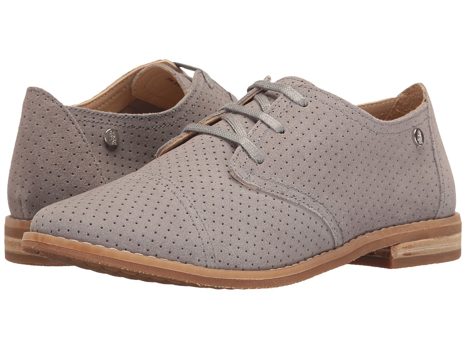 Hush Puppies Aiden Clever (Frost Grey Suede Perf) Women