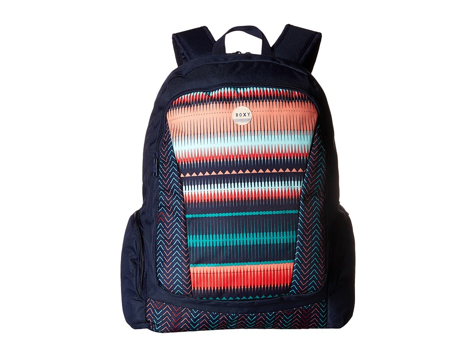 Roxy - Alright Backpack (Jagged Stripe) Backpack Bags
