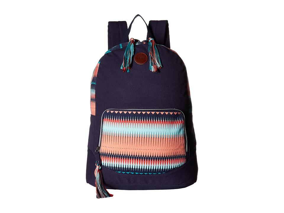 Roxy - Primary Backpack (Peacoat) Backpack Bags