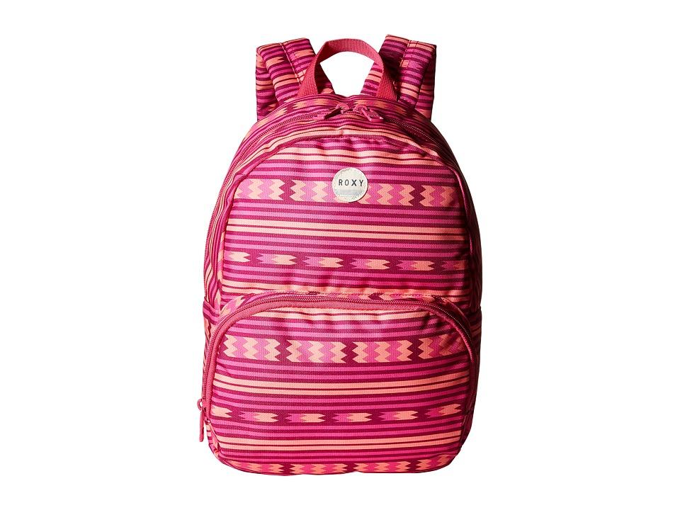 Roxy - Always Core Girl Backpack (Coastline Cruisin' Fuchsia) Backpack Bags