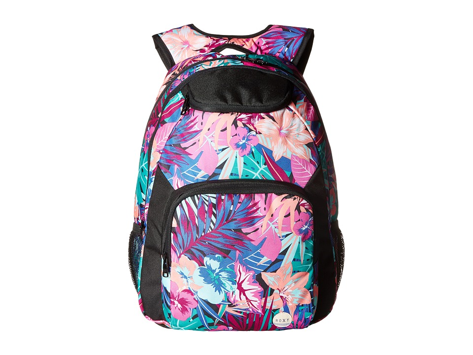 Roxy - Shadow Swell Backpack (Garden Party/True Black) Backpack Bags
