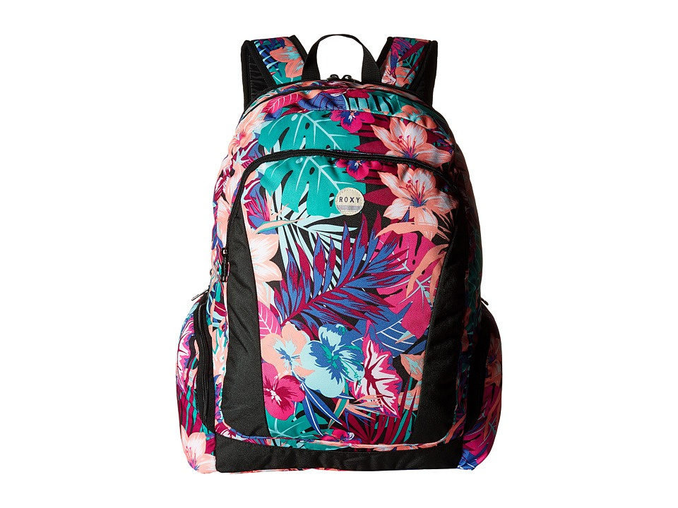 Roxy - Alright Backpack (Garden Party/True Black) Backpack Bags