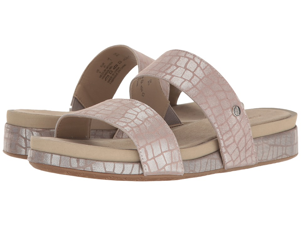 Hush Puppies - Gallia Chrysta (Metallic Croco Suede) Women's Sandals