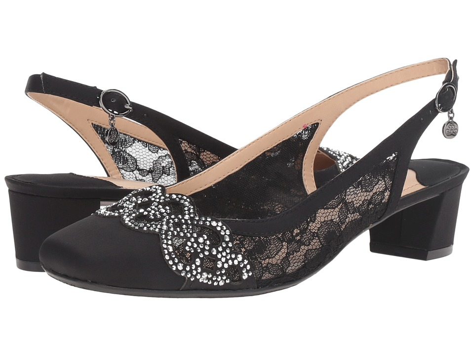 J. Renee - Faleece (Black) Womens Shoes