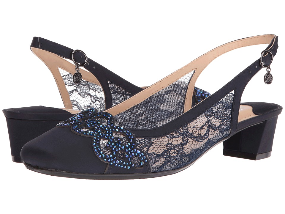 J. Renee Faleece (Navy) Women's Shoes