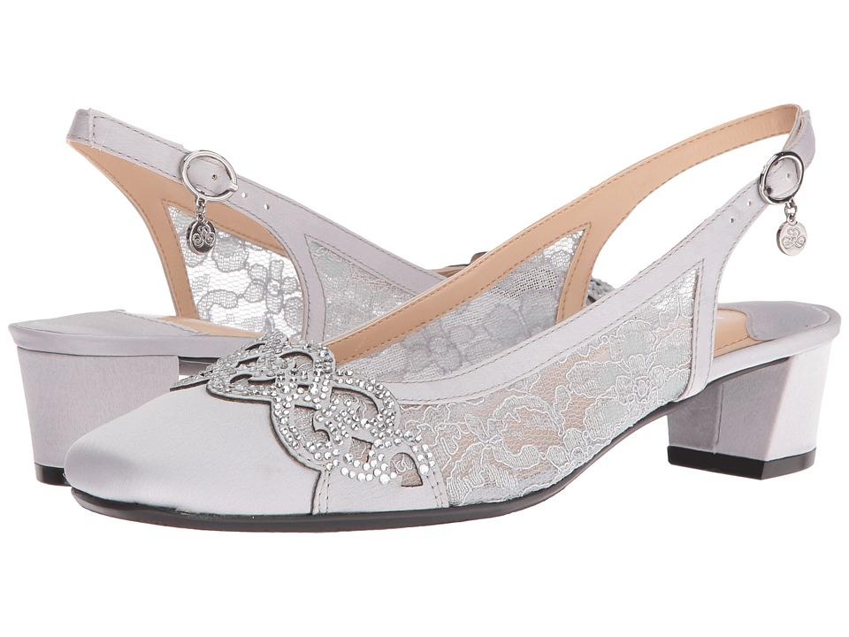 Vintage Style Wedding Shoes, Boots, Flats, Heels J. Renee - Faleece Steel Gray Womens Shoes $99.95 AT vintagedancer.com