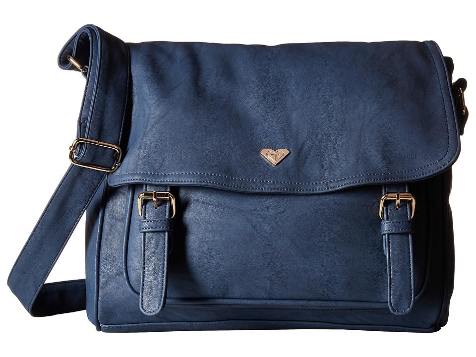 Roxy - Schoolie Bag Messenger Bag (Peacoat) Messenger Bags