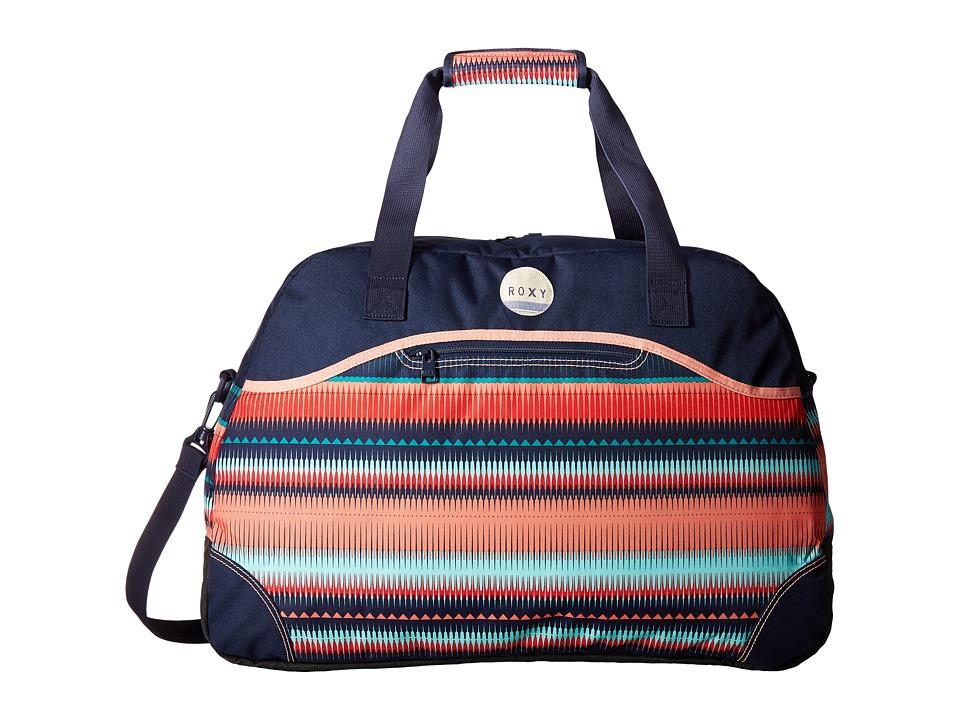 Roxy - Too Far Duffel Bag (Jagged Stripe) Duffel Bags
