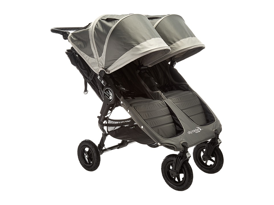 Baby Jogger City Mini GT Double (Steel Gray) Strollers Tr...