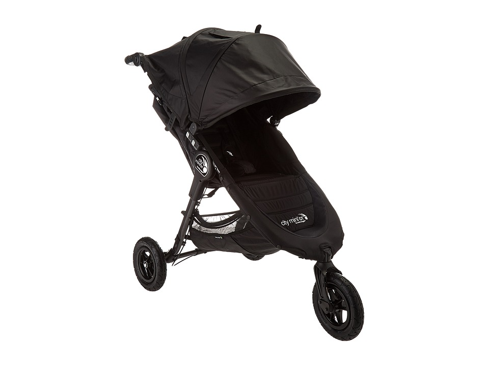 Baby Jogger City Mini GT Single (Black/Black) Strollers T...