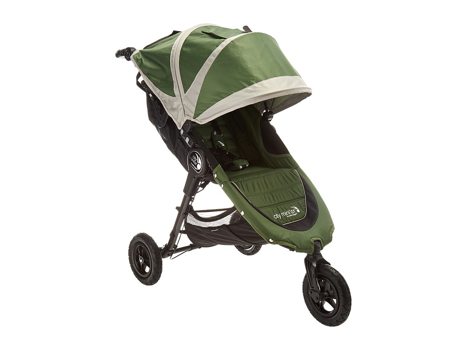 Image of Baby Jogger - City Mini GT Single (Evergreen/Gray) Strollers Travel