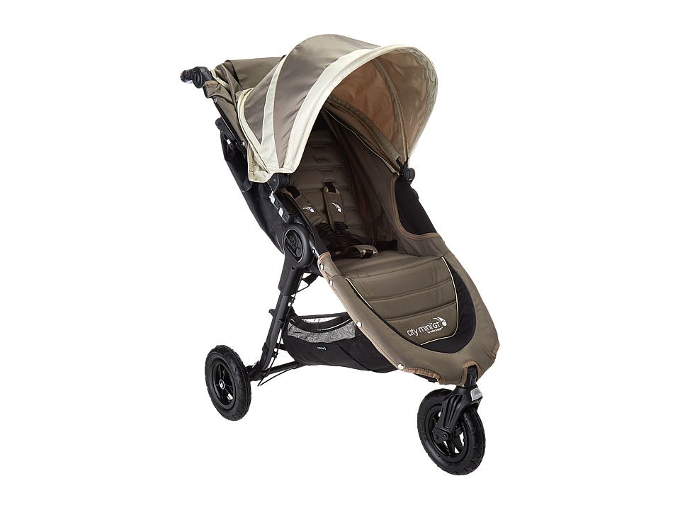 Baby Jogger City Mini GT Single (Sand/Stone) Strollers Tr...