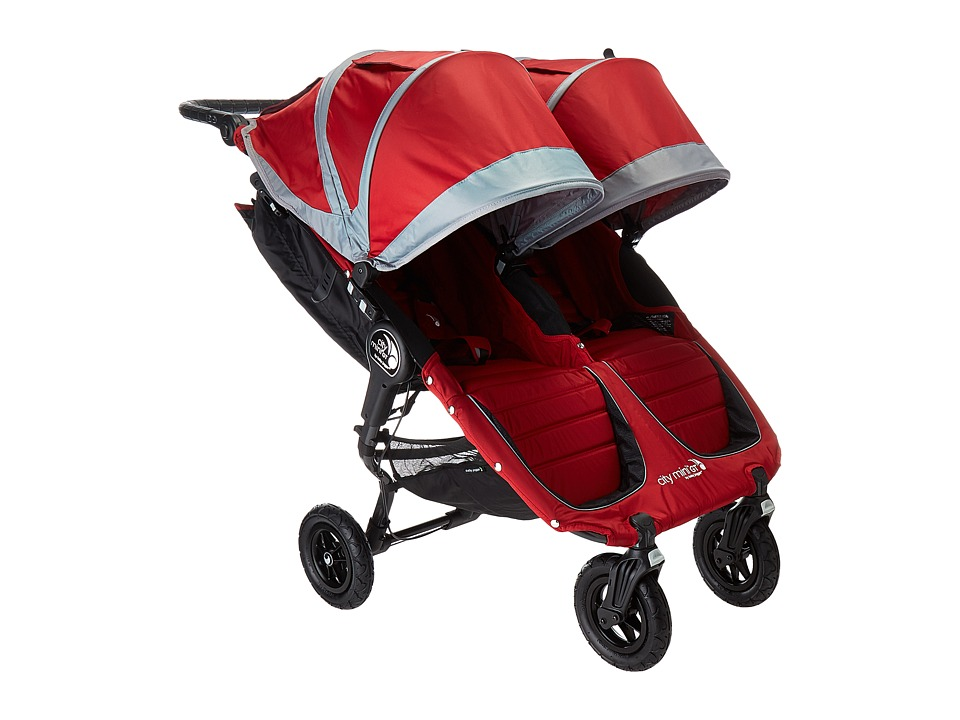 Image of Baby Jogger - City Mini GT Double (Crimson/Gray) Strollers Travel