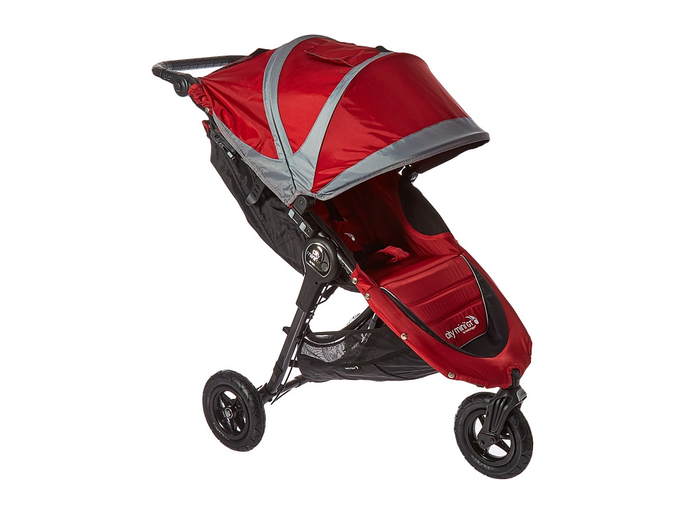 Baby Jogger City Mini GT Single (Crimson/Gray) Strollers ...