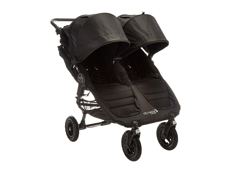 Image of Baby Jogger - City Mini GT Double (Black/Black) Strollers Travel