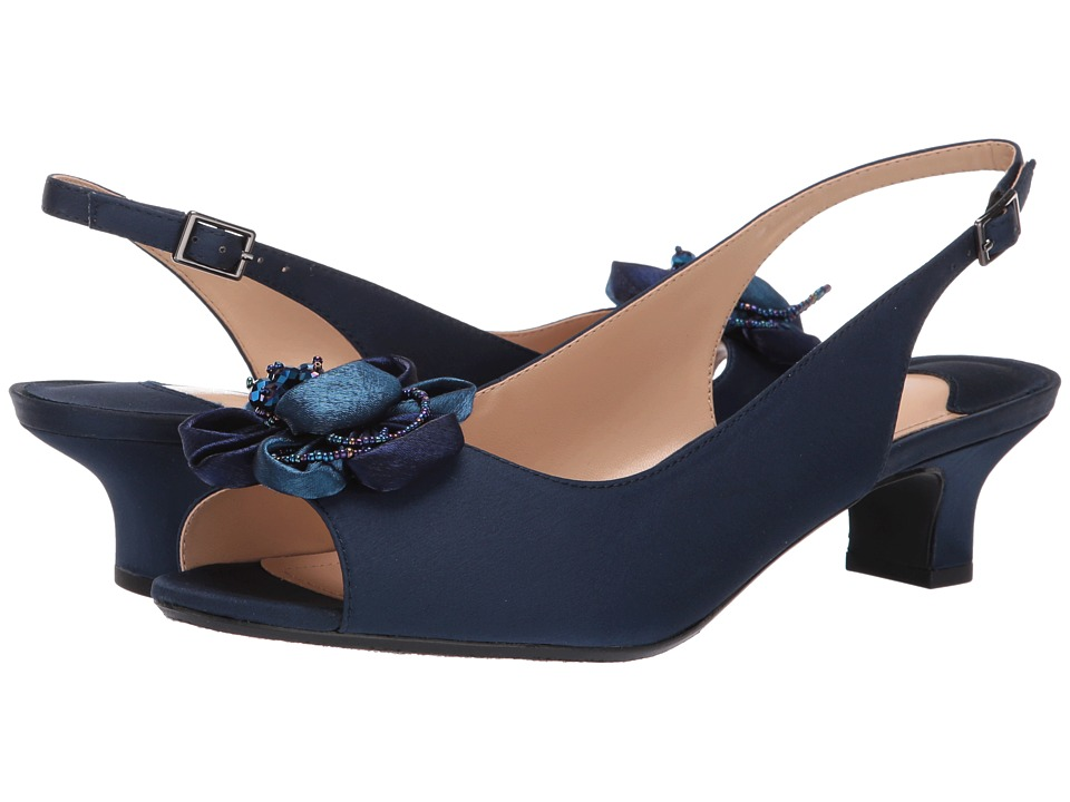 J. Renee - Leonelle (Navy) Womens Shoes