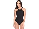 Magicsuit Leather Bonnie Underwire One-Piece Swimsuit