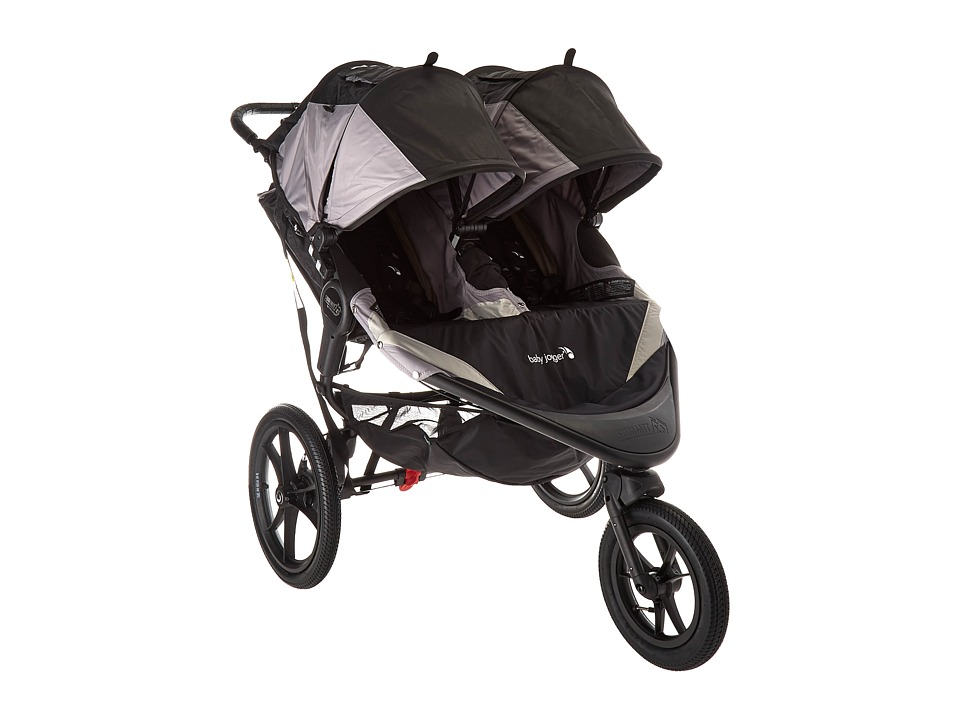 Baby Jogger Summit X3 Double (Black/Gray) Strollers Travel